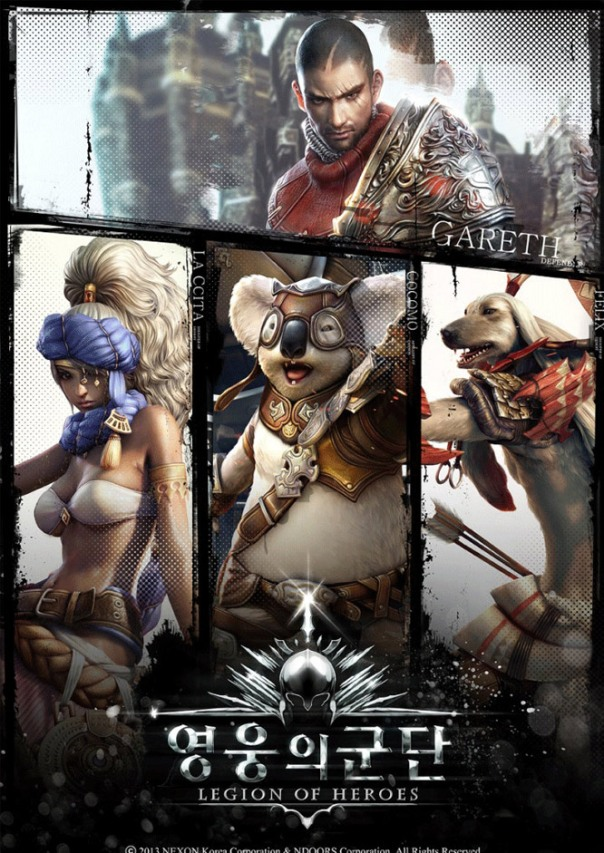 Legion of Heroes poster
